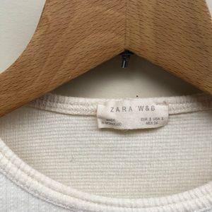 Zara Sweaters - Zara Pullover Sweater w Snap Button Shoulder Small